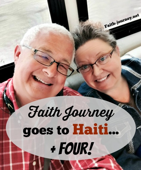 faith journey goes to haiti + four
